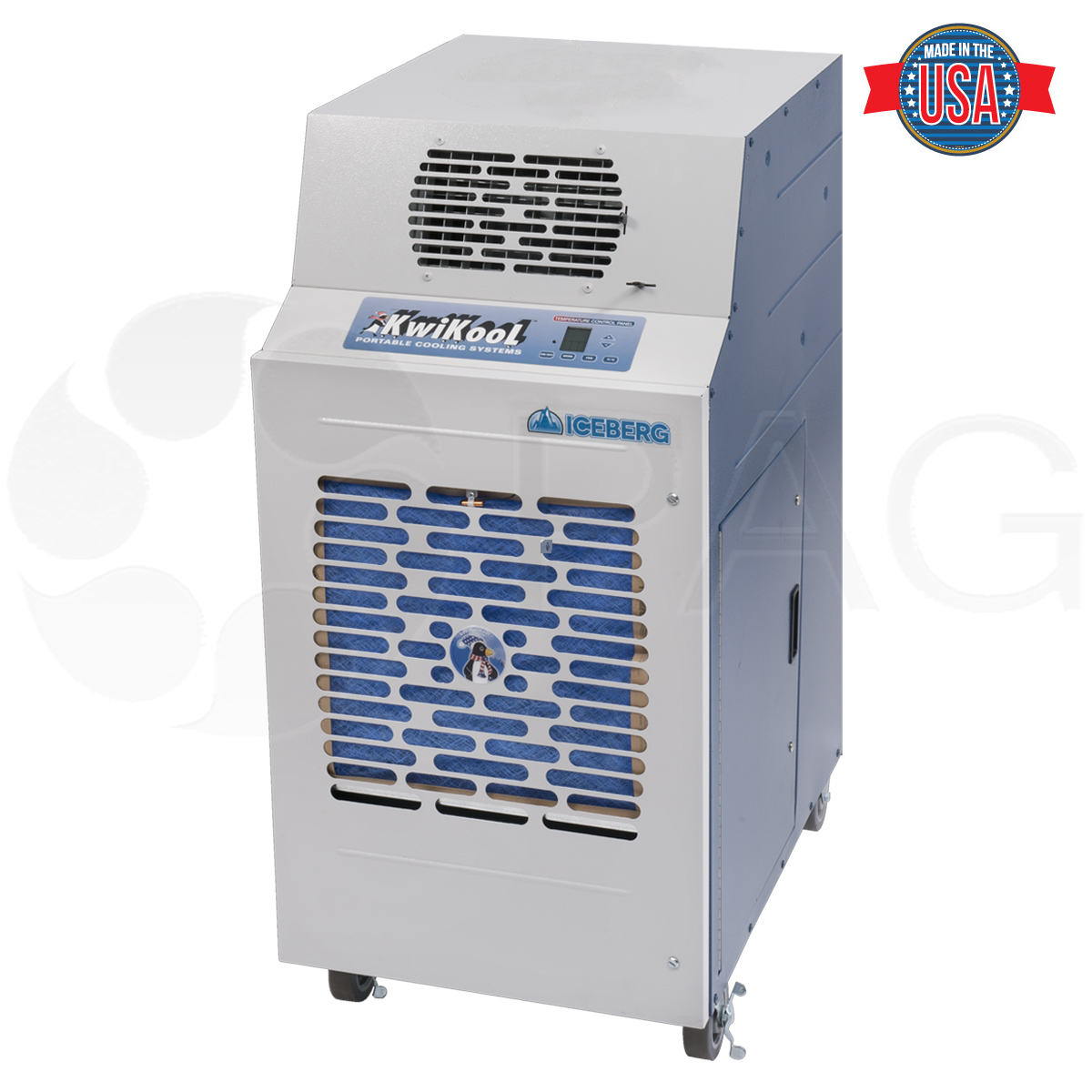 Product Image for KWIB2411-2421-3021 water cooled portable air conditioner by KwiKool