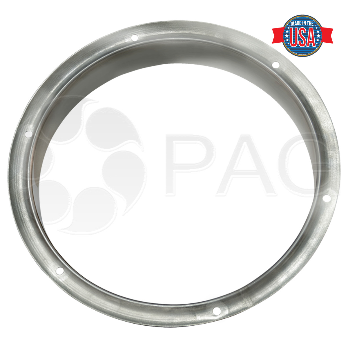 Reverse stainless flange picture for KwiKool Machines