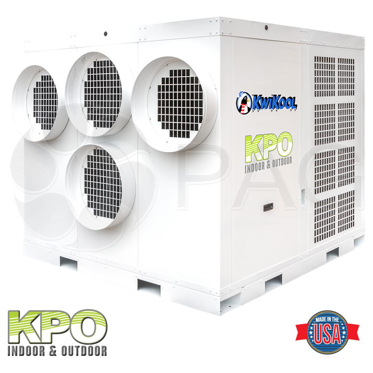 Picture of KwiKool's 25-ton Indoor/Outdoor AC unit - KPO25-43
