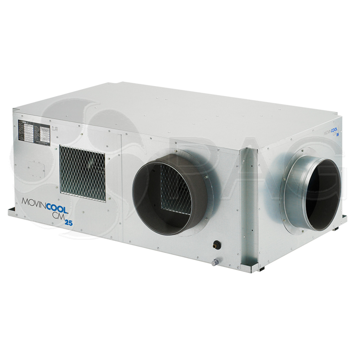 MovinCool CM25 ceiling-mounted industrial air conditioner