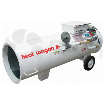 Heat Wagon 950H - ductible duel fuel heater