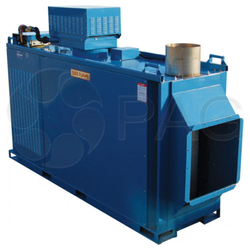 Heat Wagon IX1500 - indirect fire, duel fuel heater