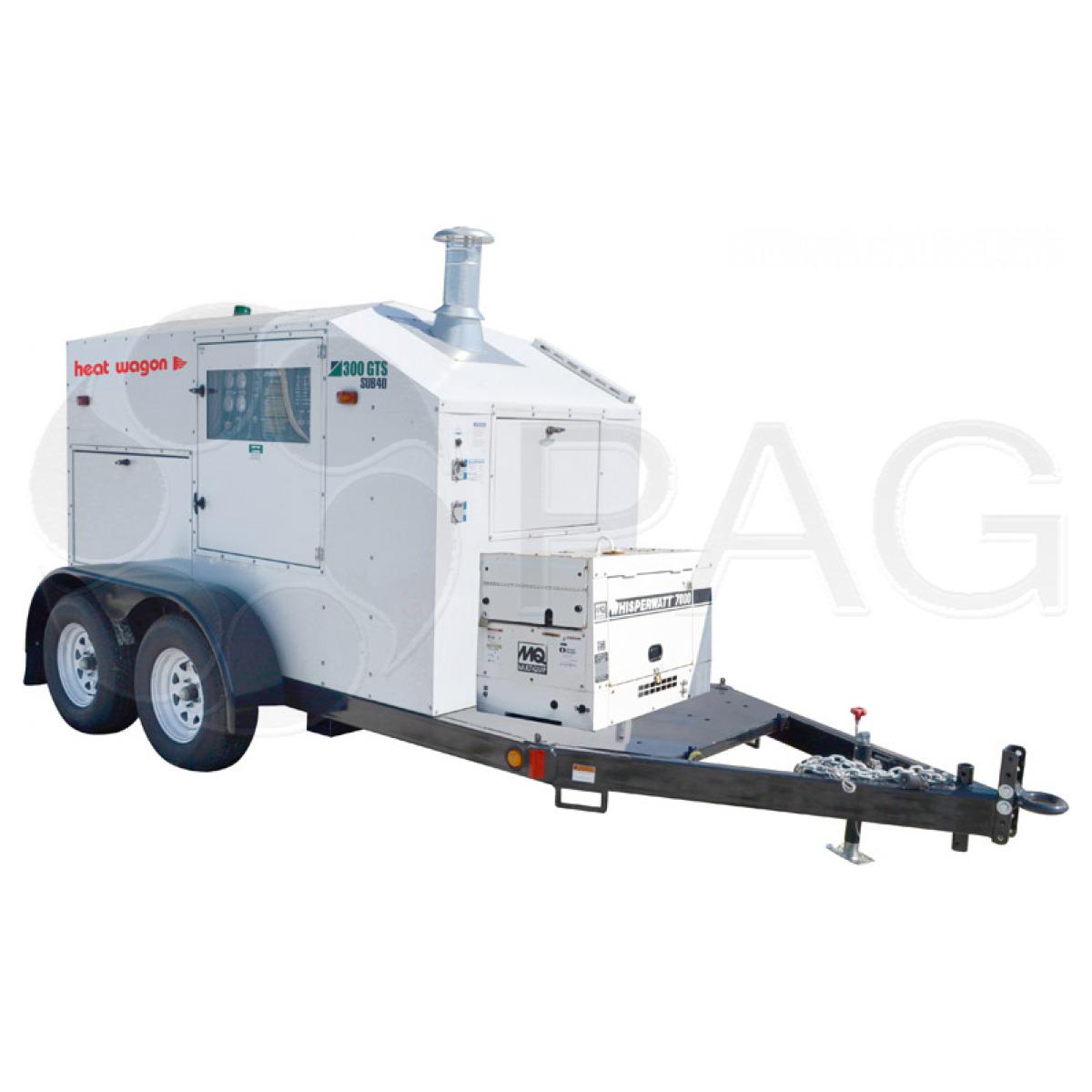 Heat Wagon ground thawing heater TD300