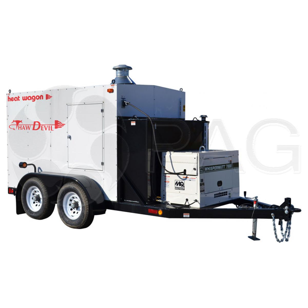 Heat Wagon ground thawing heater TD600