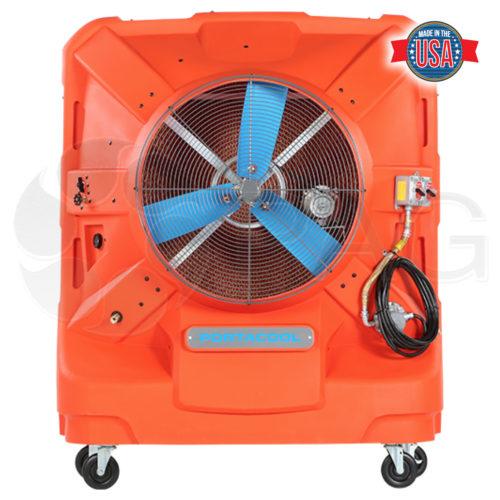 Portacool Hazard Location 260 portable evaporative cooler full front view