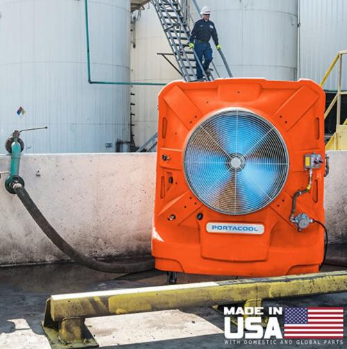 Portacool Hazard Location 260 portable evaporative cooler in hazardous environment