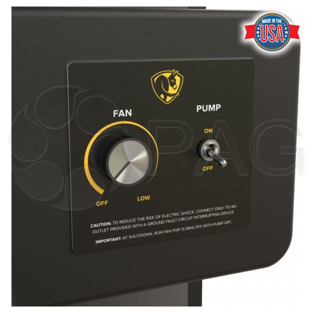 Big Ass Fans Cold Front 400 Evaporative Cooler Control Panel