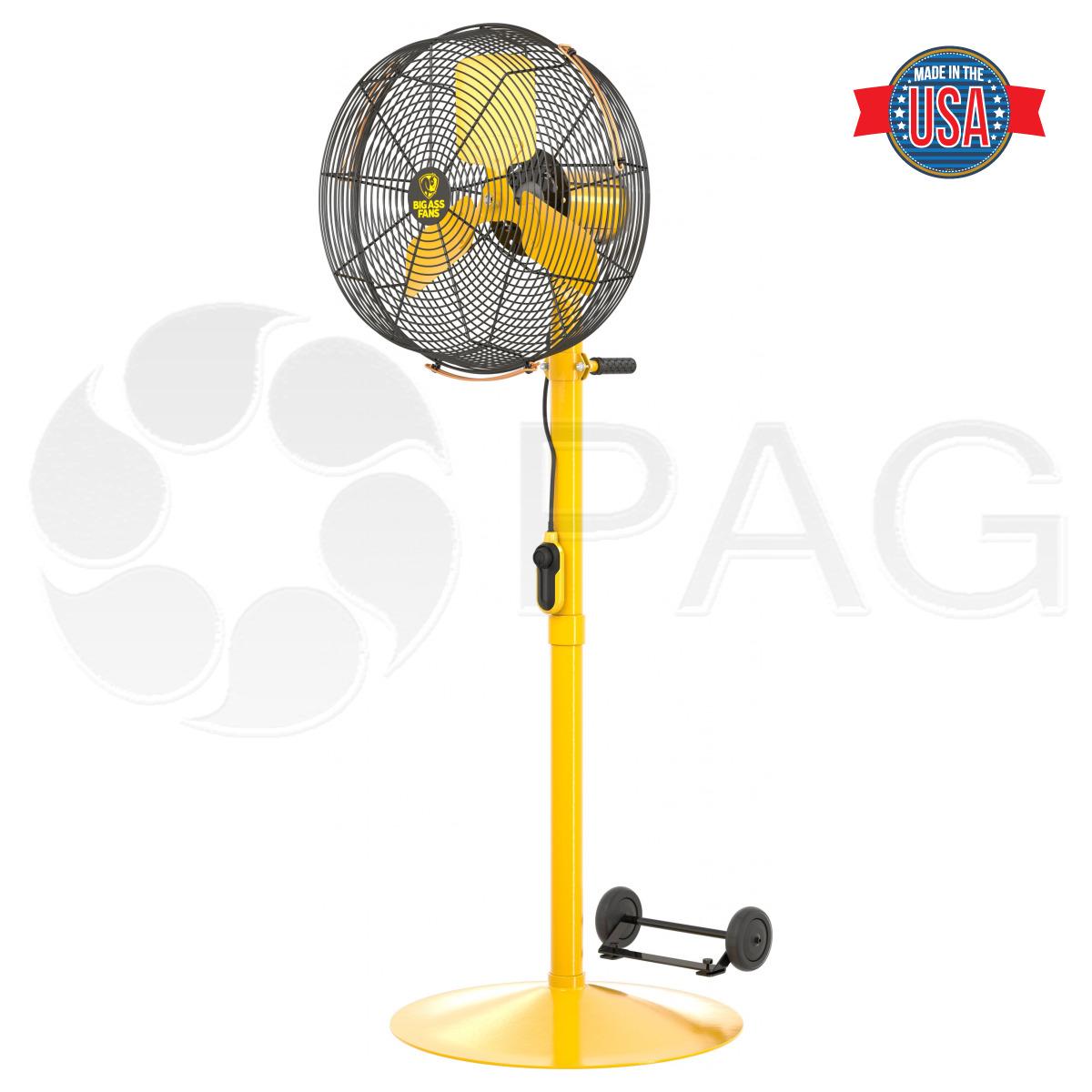 Big Ass Fans AirEye fan with Pedestal